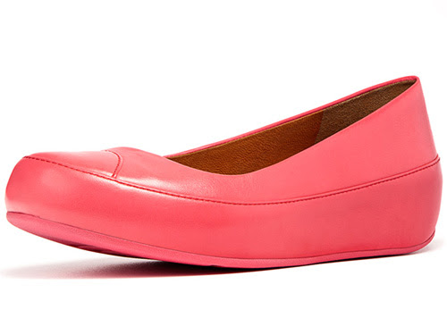 FitFlop Due Punch Pink- Ballet Flats