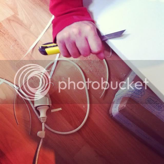 DIY Wickelaufsatz - Kanten bearbeiter