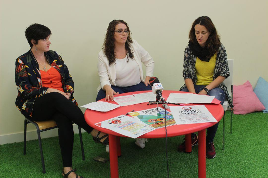 Presentación de las actividades en el comienzo de curso de los Haurtxokos de Irun.