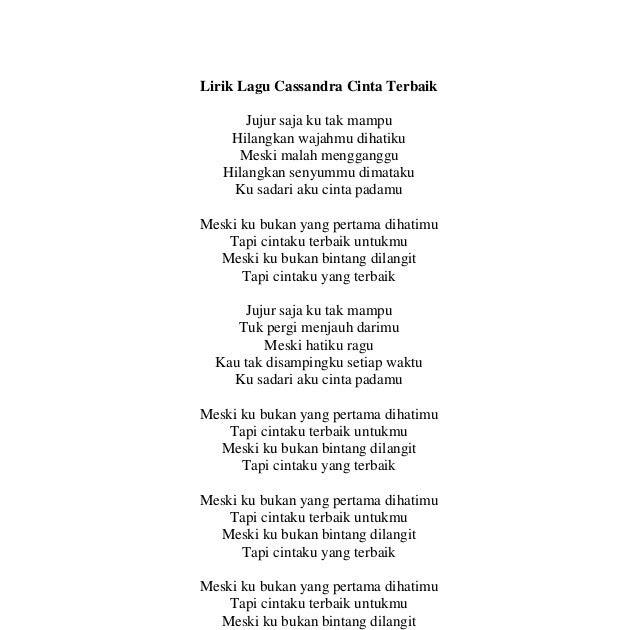 Lirik Chord Lagu Jikustik Puisi: Lirik Lagu Kunci Gitar Cassandra Cinta Terbaik New Style