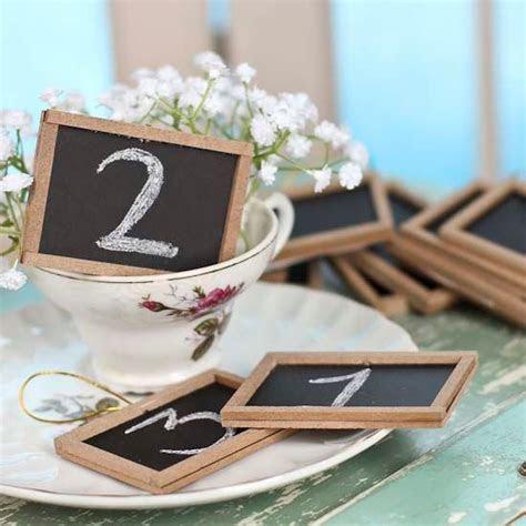 Mini Chalkboard Table Talkers / Place cards / Wedding Favor