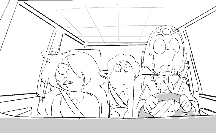 Last One Out of Beach City (please drive safely y'all) Thanks Amber for cleaning up and giving extra love to Pearl struggling with those pants!