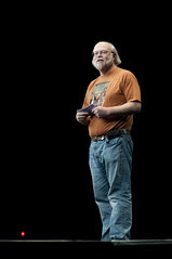 """James Gosling, General Session """"The Toy Show"""" on June 5, JavaOne 2009 San Francisco"""