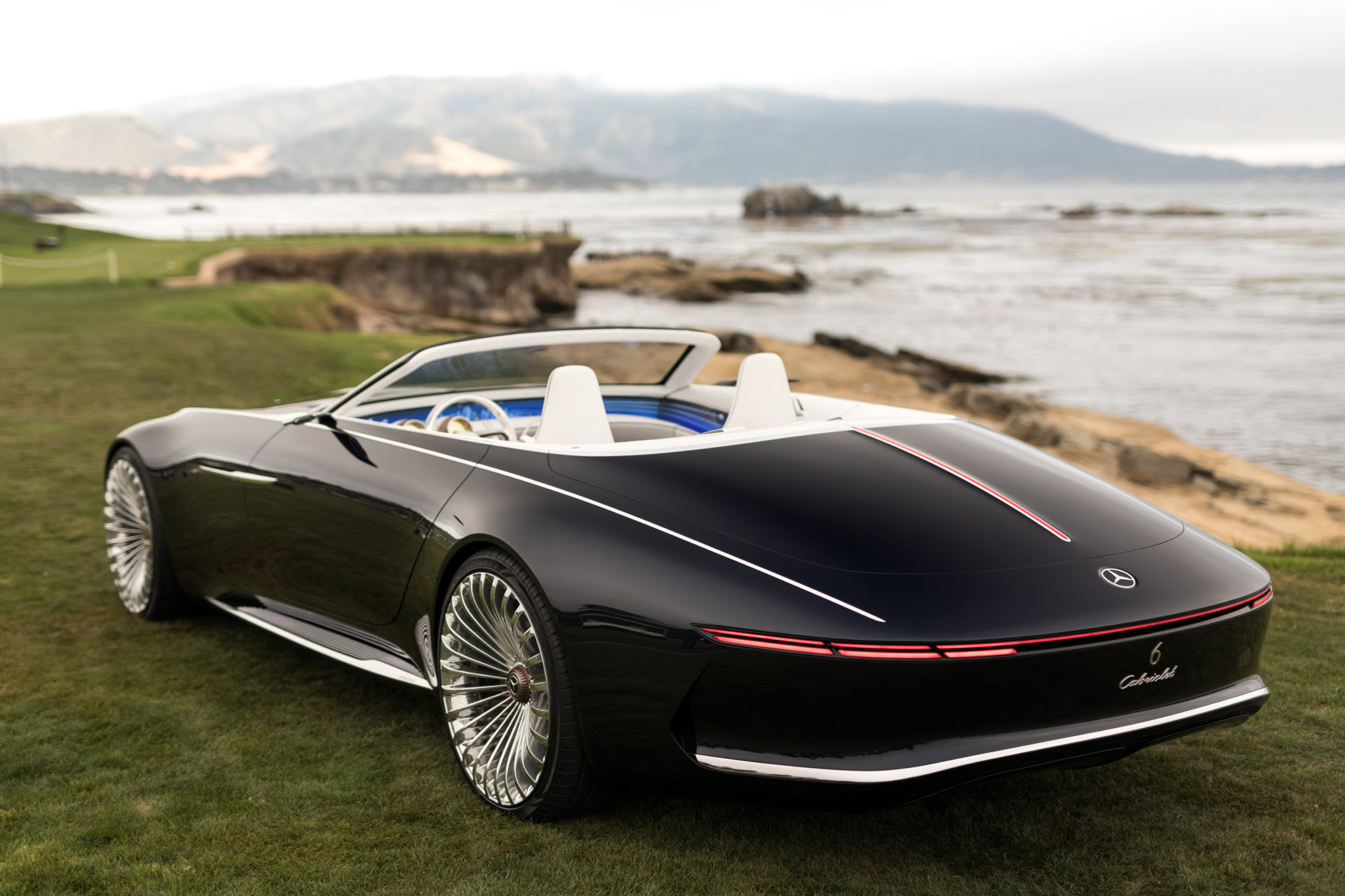Vision Mercedes-Maybach 6 Cabriolet - LUXUO