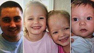 Reece Smith, Holly Smith, Ella Smith and Jordan Smith