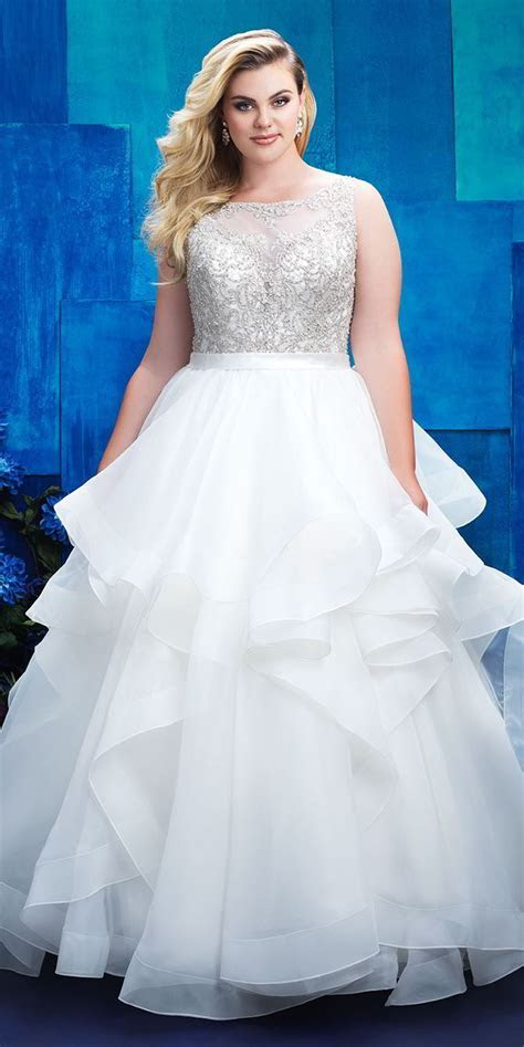Allure Women Spring 2017 Plus Size Wedding Dresses   World