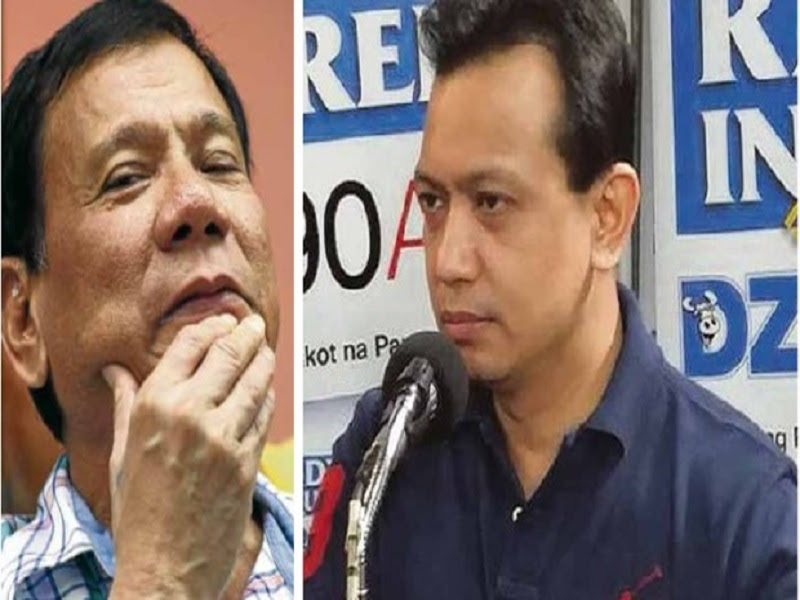 Image result for images of duterte with trillanes