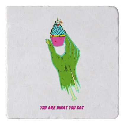 Zombie Hand - You Are What You Eat Trivet