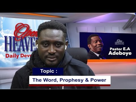Open Heaven 10 April 2021 – The Word, Prophecy and Power