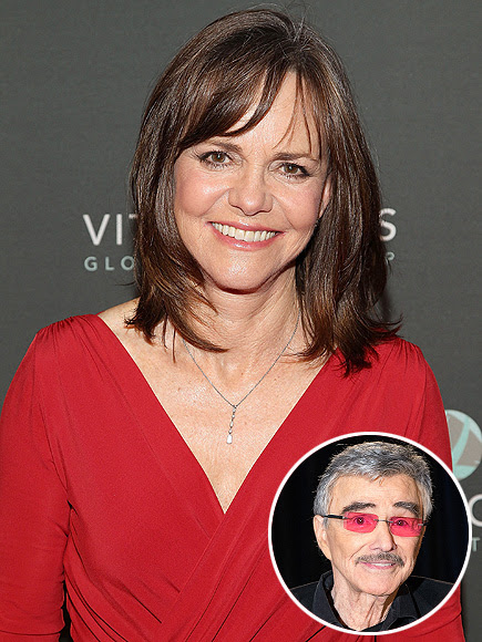 Sally Field Reacts to Burt Reynolds Calling Her the Love of His Life