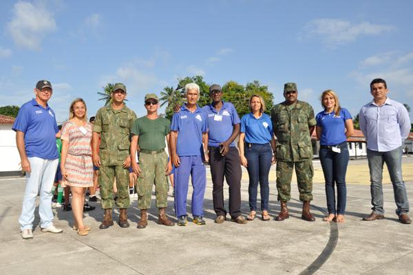 O projeto, que teve início em 2003, reúne representantes militares e civis com o objetivo de promover atividades esportivas e pedagógicas para crianças natalenses com idades entre 7 e 15 anos