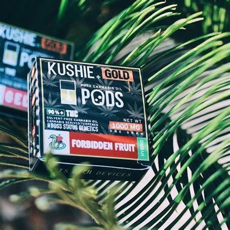 Kushie Gold Super High Potency JUUL Pods (1 gram ? 9