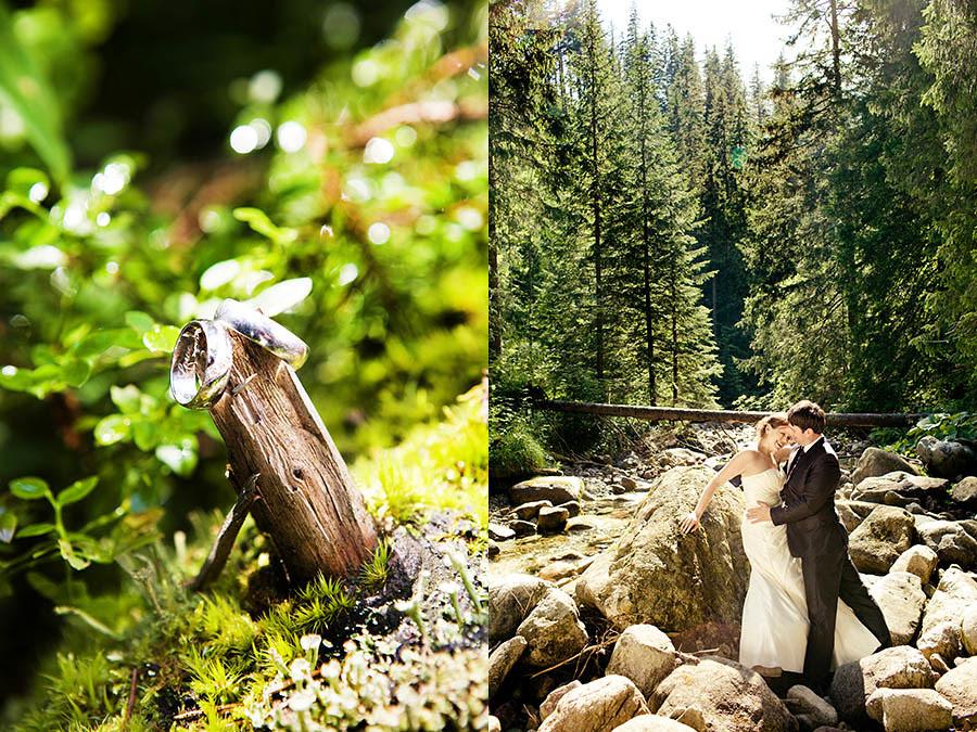 Plener slubny w Tatrach fotografia slubna Slask
