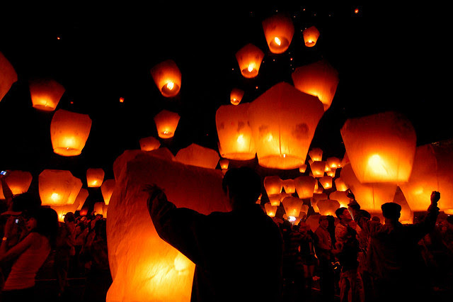2007.03.04 Taipei 平溪天燈