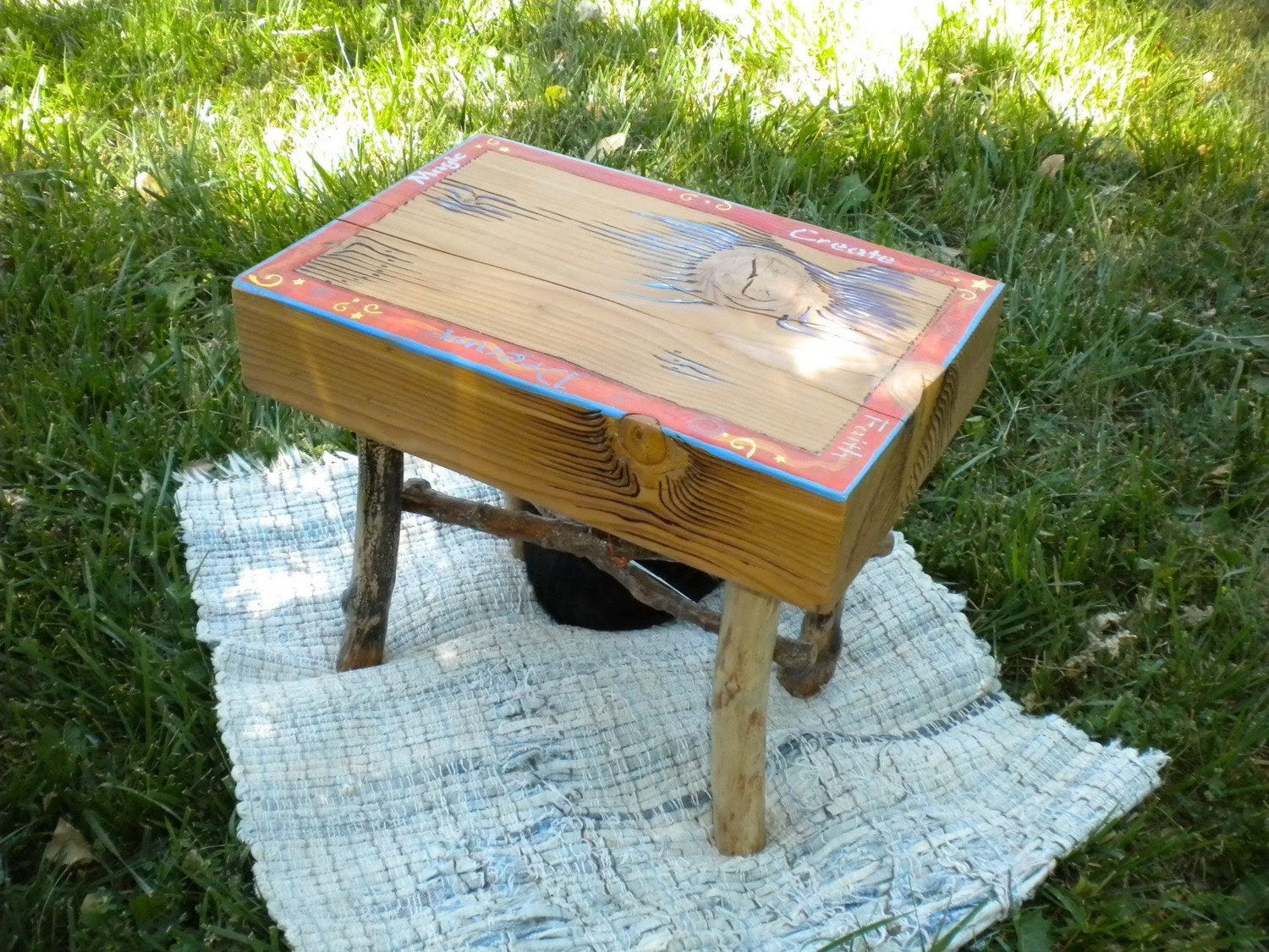 Wood, altar / table / stool , Recycled, upcycled, repurposed, reclaimed