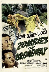 Zombies On Broadway  1 sheet poster  (1945) (by filmwolf)
