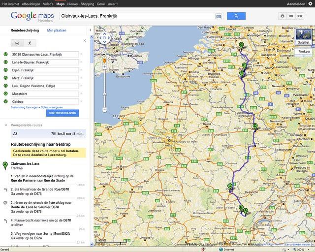 route napoleon kaart anwb Route Napoleon Kaart Anwb | Kaart