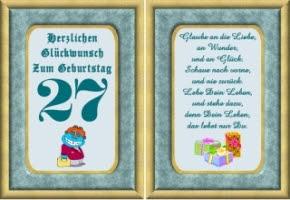 Sprüche Zum 27 Geburtstag Sohn Hylen Maddawards Com