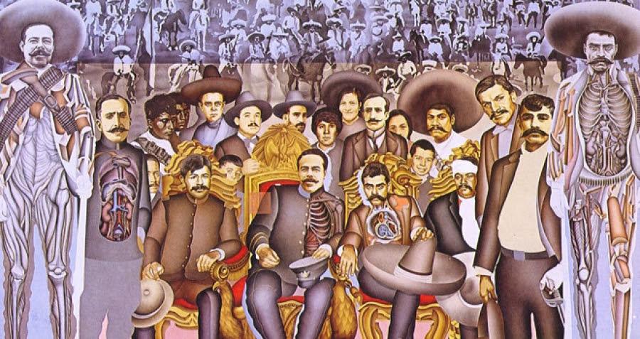 Murales Revolucion Mexicana