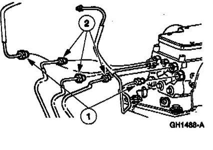 2003 Chevy Impala Master Cylinder Brake Line Diagram Chevy Diagram