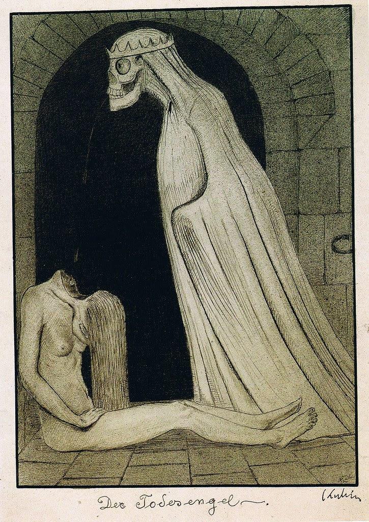 Alfred Kubin - Der Todesengel