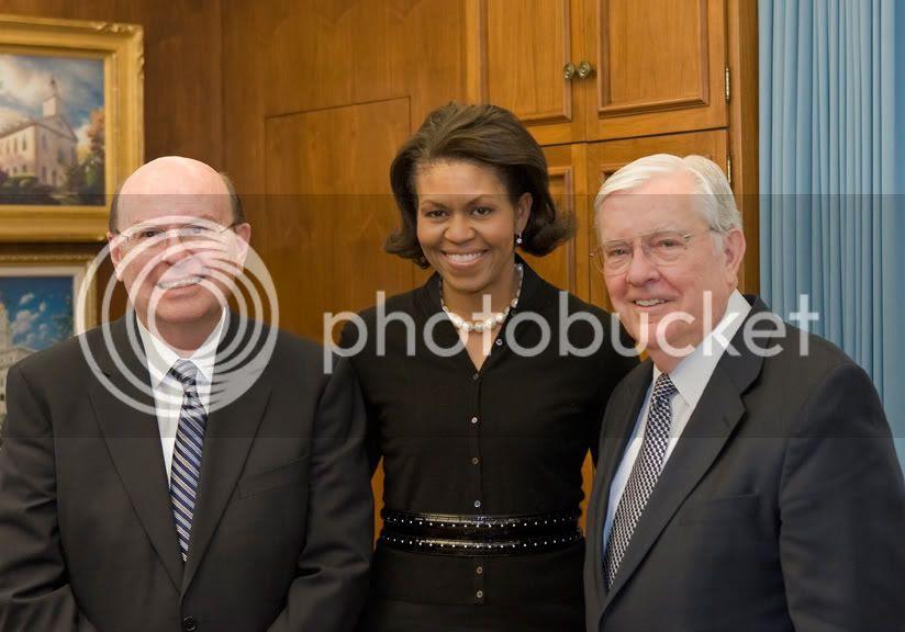 Ldc Mormon Prophet Thomas S Monson Meets With President Obama