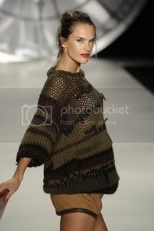 Alessandra Ambrosio at Sao Paulo Fashion Week
