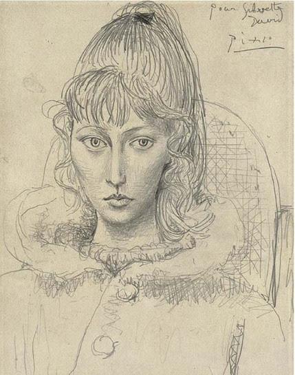 Portrait_de_Sylvette_David 01_1954