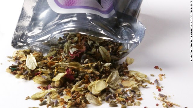This pouch of dried herbal potpourri is called