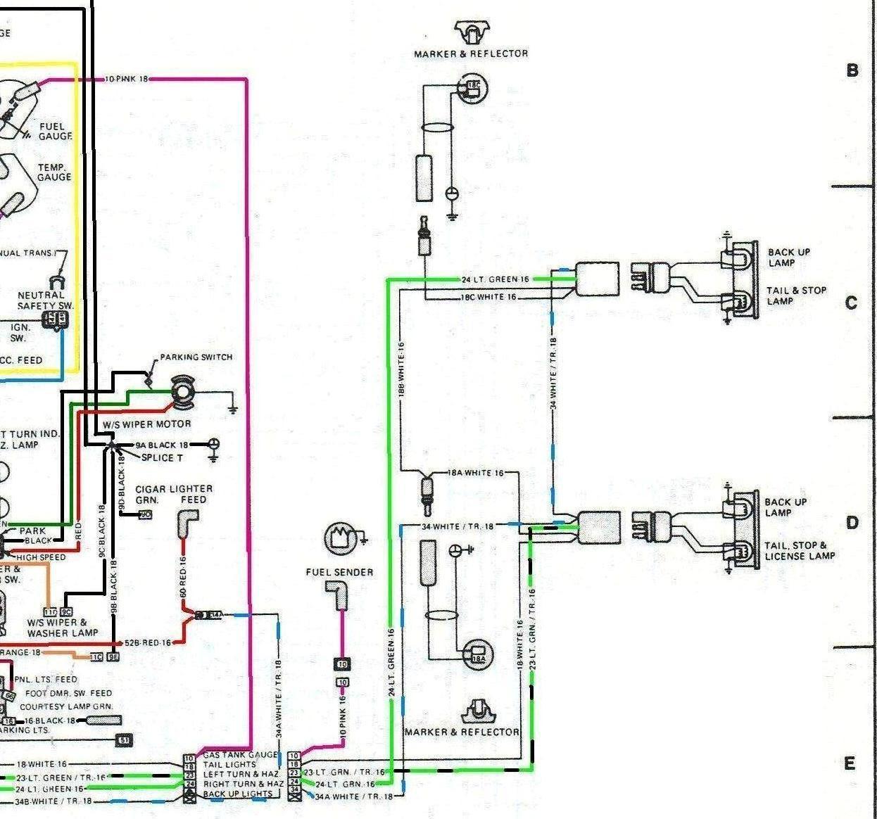 Cj7 Tail Light Wiring Diagram - Wiring Diagram | 74 Jeep J10 Wiring Diagram Tail Light |  | Wiring Diagram