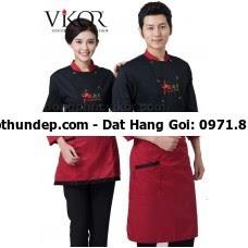 đồng phục đầu bếp may sẵn
