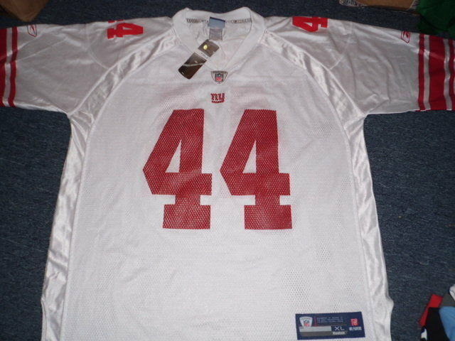 REEBOK NFL EQUIPMENT NEW YORK GIANTS AHMAD BRADSHAW JERSEY SIZE XL  eBay