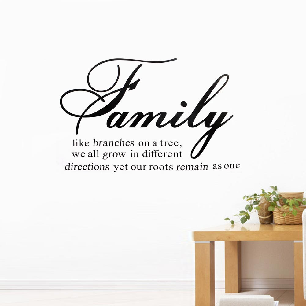 Hot Family Like Branches On A Tree Warm Quote Diretions Motto Art