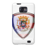 Puerto Rico - Seal on Shield Samsung Galaxy S2 Covers