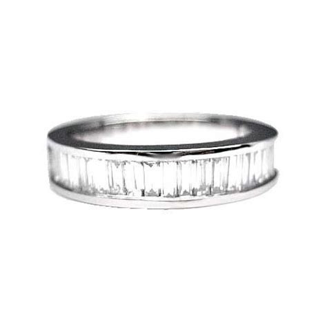 1.75 ct MENS BAGUETTE CUT DIAMOND WEDDING BAND PLATINUM   eBay