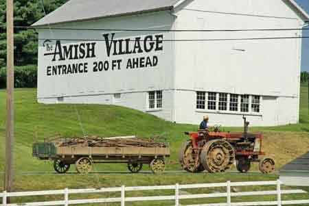 amish Pennsylvania comté de Lancasterr