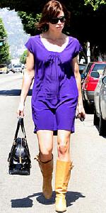 Jessica Biel wearing Twelfth Street by Cynthia Vincent