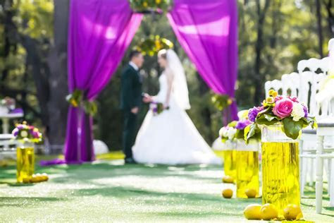 Purple and Yellow Weddings   LoveToKnow