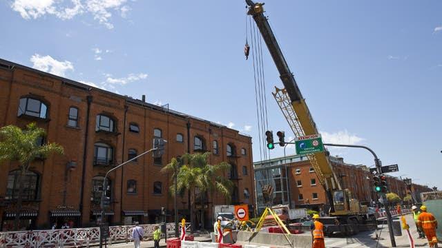 Las obras ya comenzaron en Puerto Madero