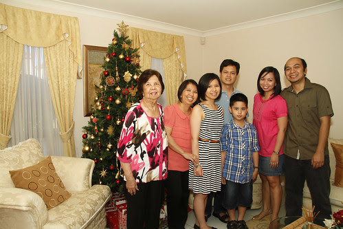 Snippets of Christmas with Friends and Family