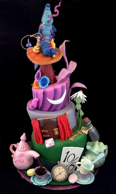 232 best images about Alice In Wonderland cakes, cupcakes