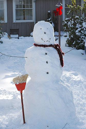 big snowman