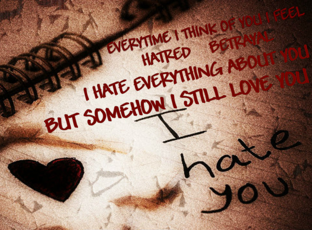 30 Top Level I Hate You Quotes