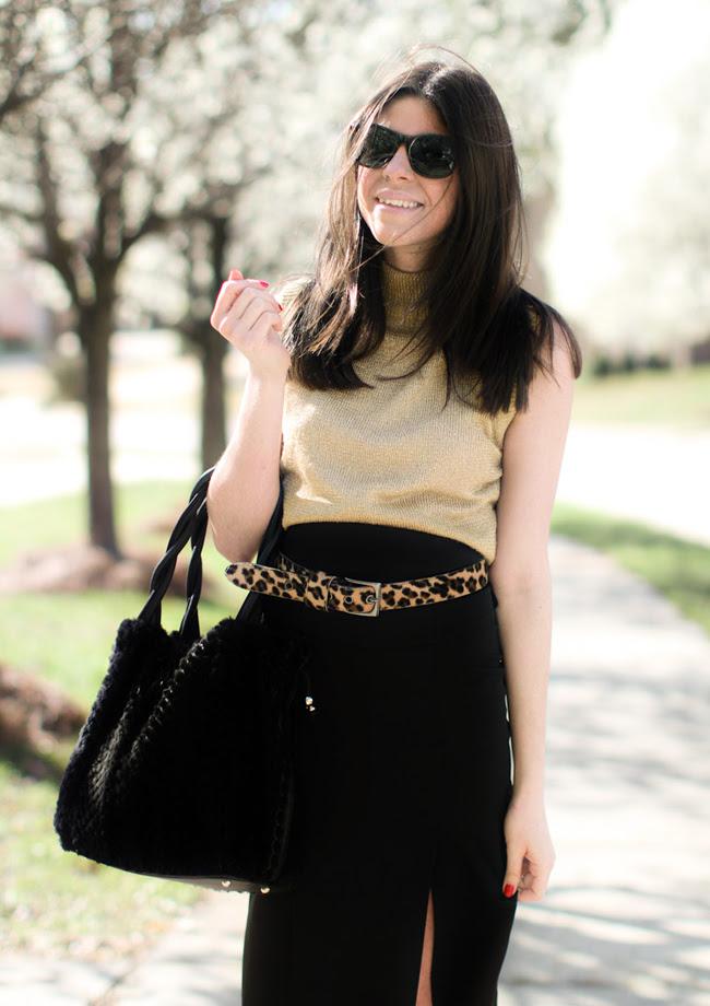 Calvin Klein, Fashion, Pencil Skirt, Balenciaga Sandals