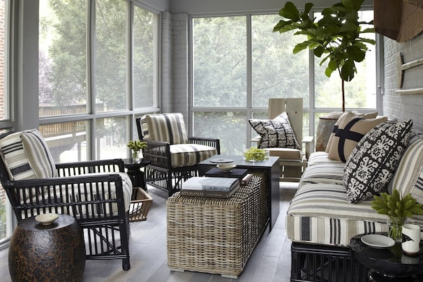 Decorating, and enjoying, a screened porch - Washington Post
