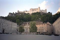 Market Square, Salzburg, Austria