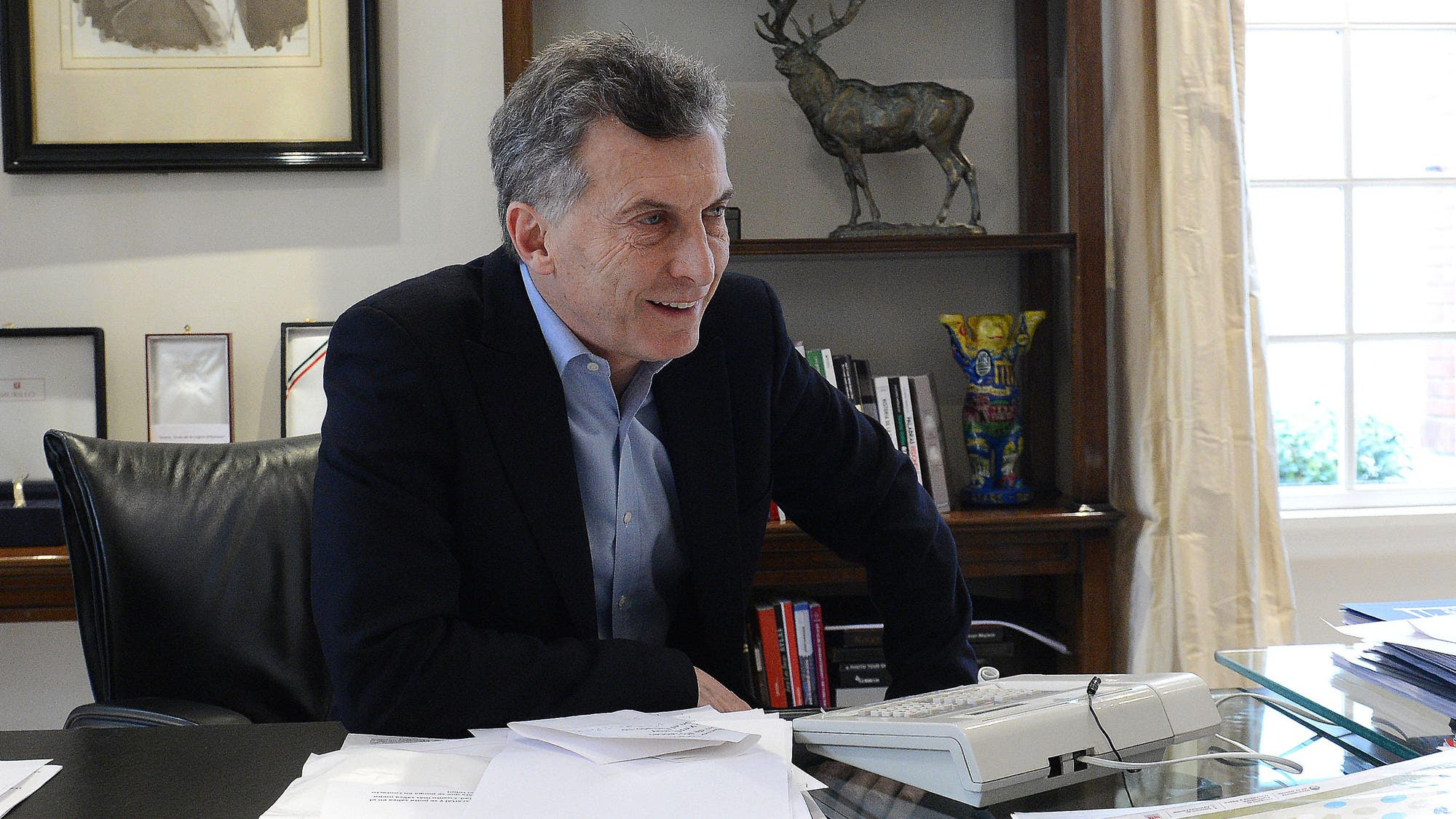 Resultado de imagen para Macri firmó un acuerdo de competitividad con el campo