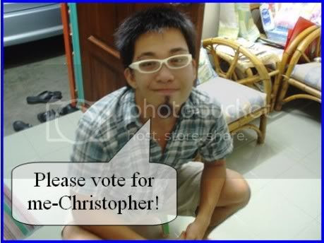 Vote For Me Christopher