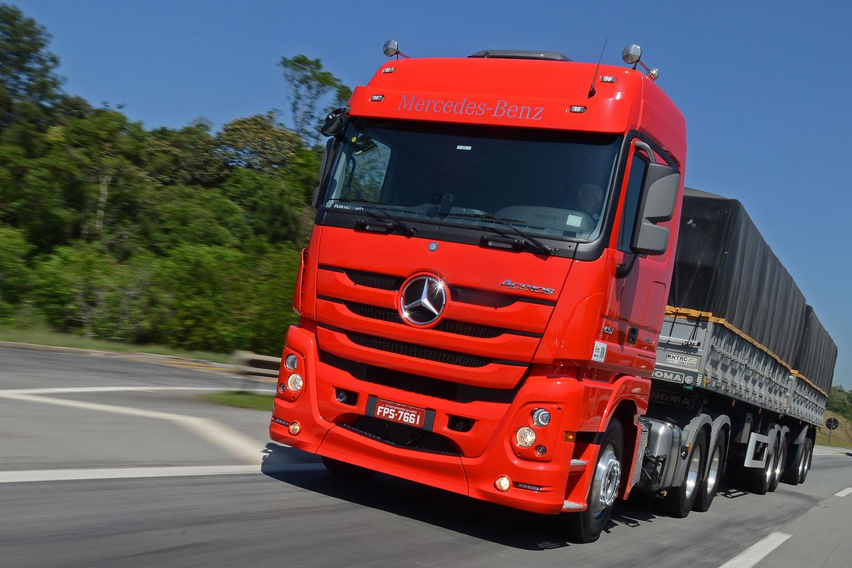 Mercedes-Benz Actros assegura produtividade e ...