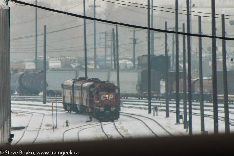 CP 1601 in Calgary